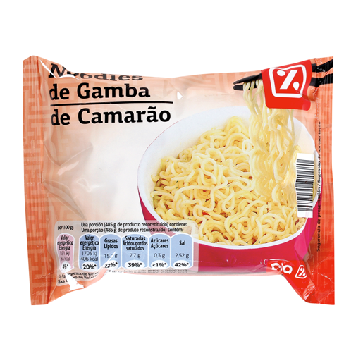 DIA Massa Noodles Camarão 85 g