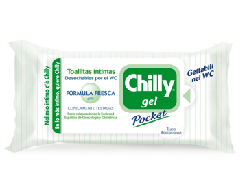 Toallitas Higie.Frescas Pocket Chilly 12 Ud.