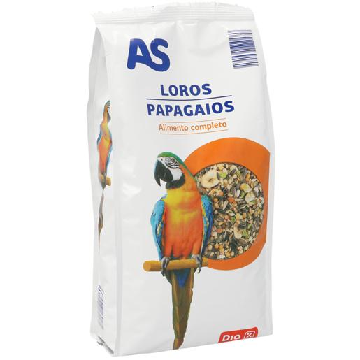 AS Alimento Para Papagaios 1 kg
