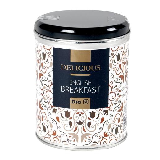 DIA DELICIOUS Chá English Breakfast Lata 100 g