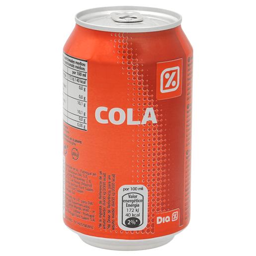 DIA Refrigerante Com Gás Cola Lata 330 ml
